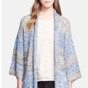 NEW Cozy Vince Poncho Sweater